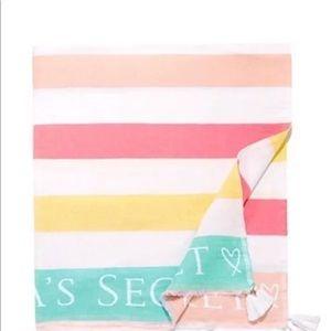 Victoria's Secret Beach Pool Blanket 50x60 NEW